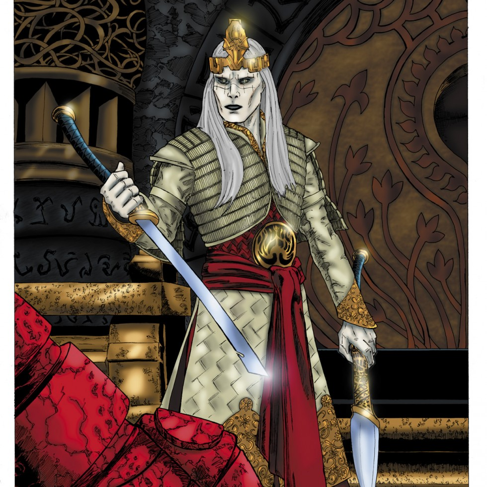 Prince Nuada Comic